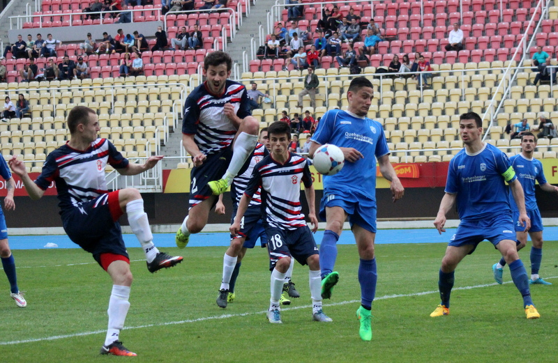 Moment of the Rabotnichki - Turnovo game; photo: FK Rabotnichki